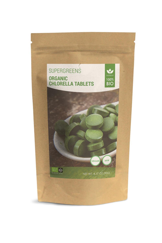 biologische chlorella tabletten-nutriboost